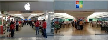 apple microsoft stores